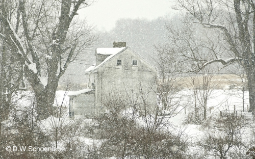Winter Farmhouse