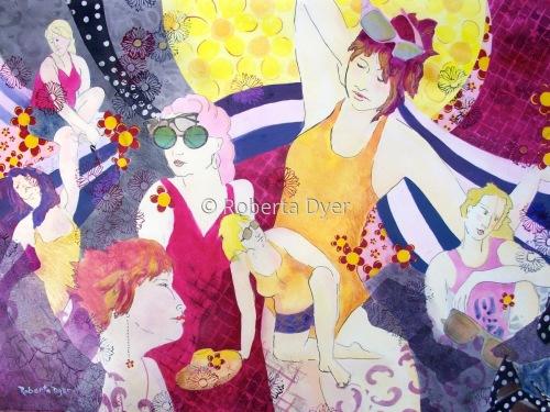 Summer Girls by Roberta Dyer