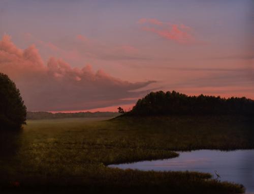Evening Marsh by Dylan B. Stark
