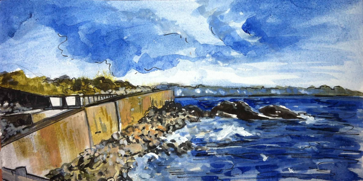 Sea Wall (large view)