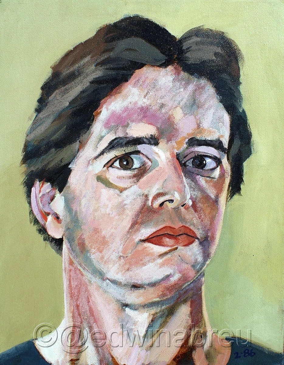 Self portrait 1986 (large view)