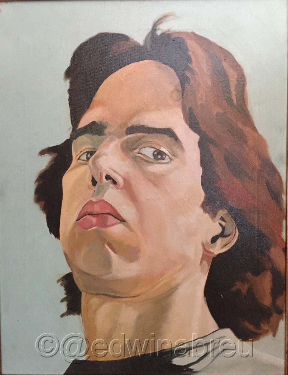 Self Protrait 1976 (large view)