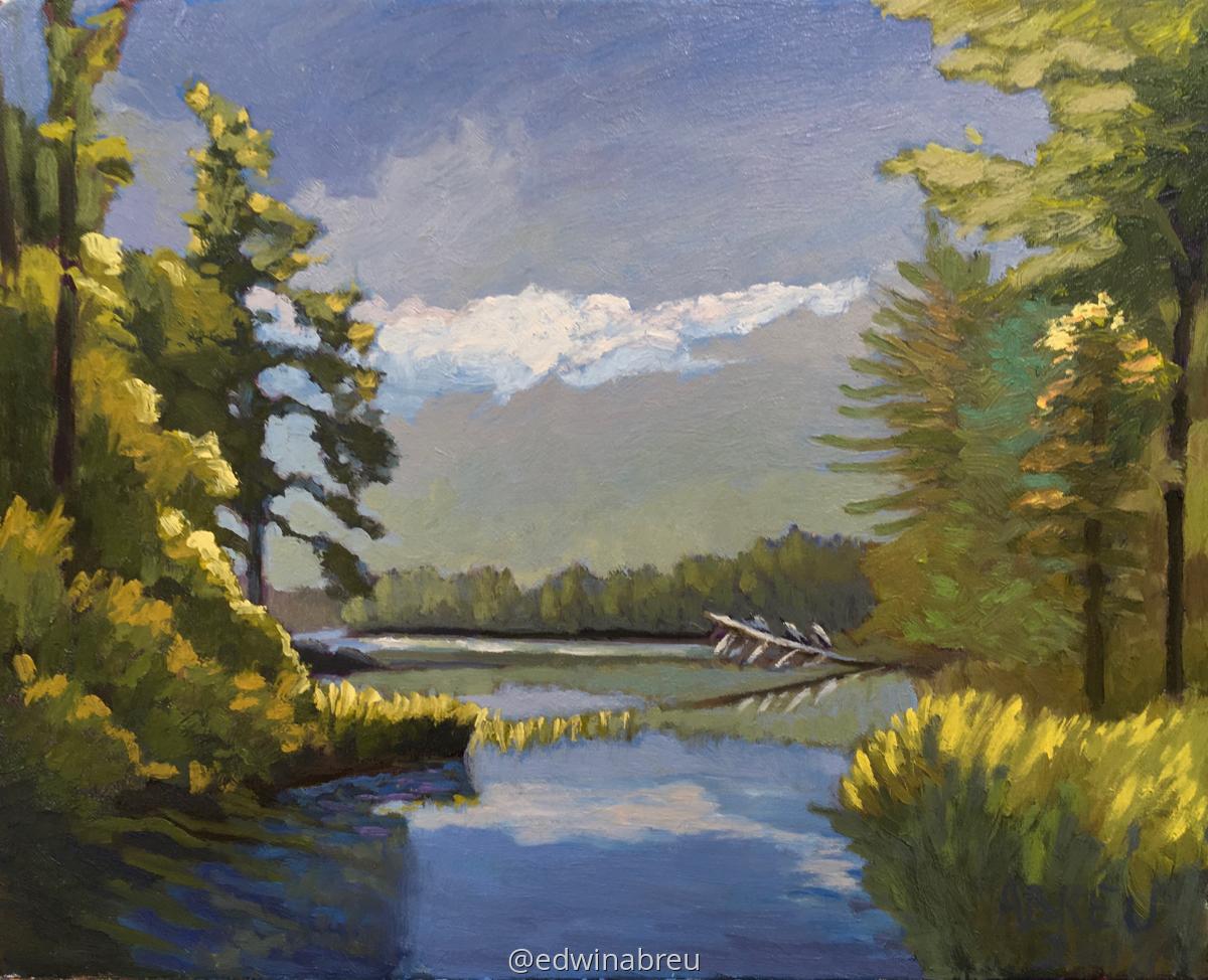 At The Lake (large view)