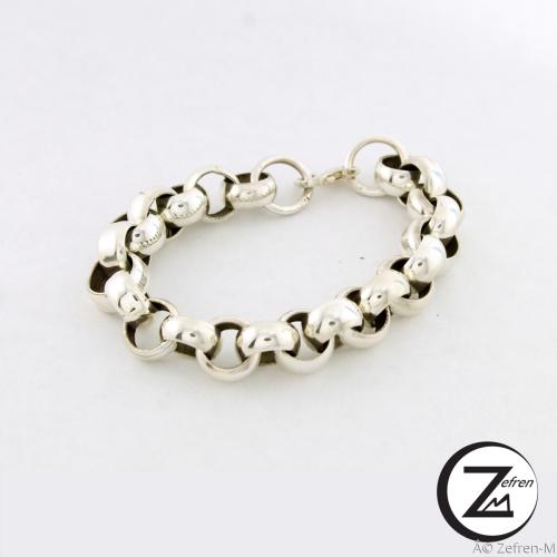 Zefren-m Belcher chain bracelet