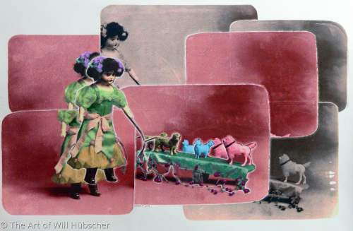 Madam La Poupee and Her Performing Dogs