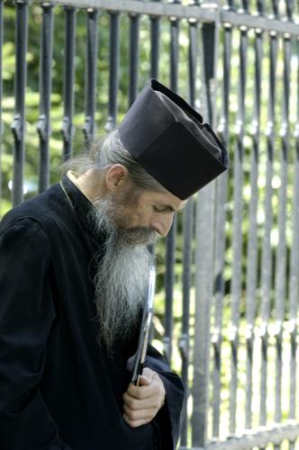 Romanian Monk