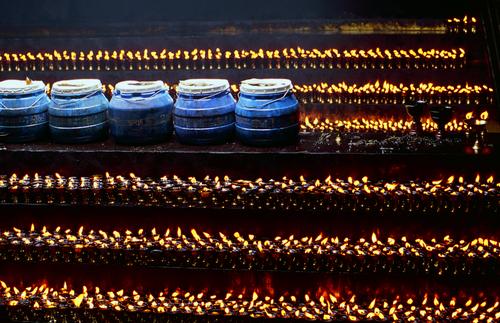 Tibetan Buttercandles