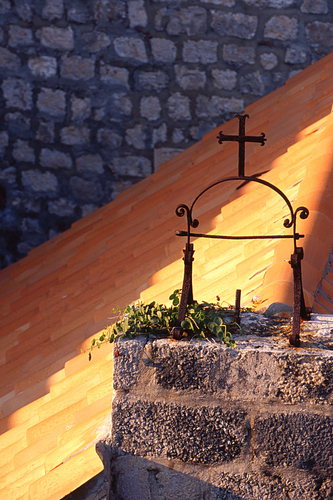Dubrovnik Church Cross