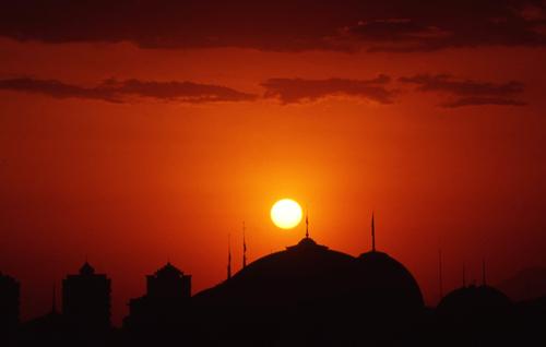 Ashgabat Sunset