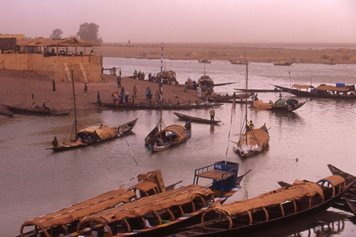 Niger River Dock