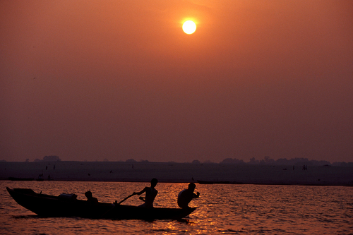 Ganges River Fisherman