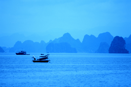 Halong Bay at Dawn
