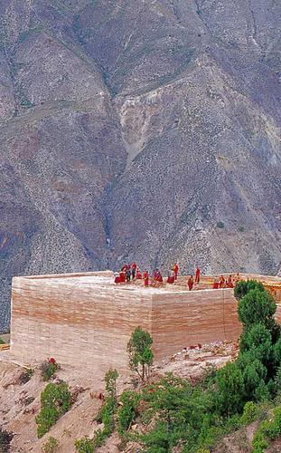 Tibetan Rooftop