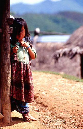 Laotian Hill Tribe Girl