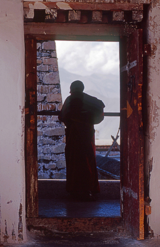 Monk Silhouette