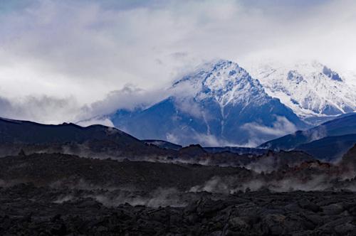 Tolbachek Volcano Range.
