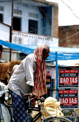 Delhi heat
