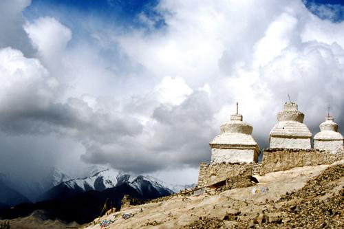 Ladakh Stupa's