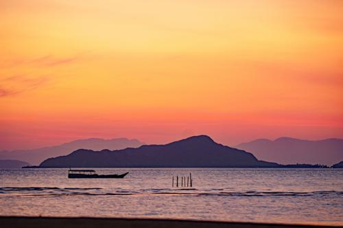 Sunset, Flores Island