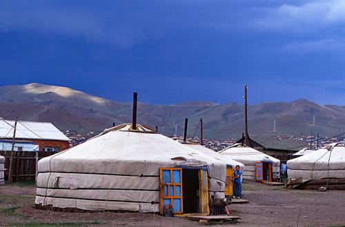 Orphanage, Ulan Batar.
