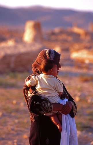 Bedouin Mother and Child