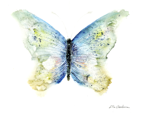 Butterfly by Ellie Carbone Art