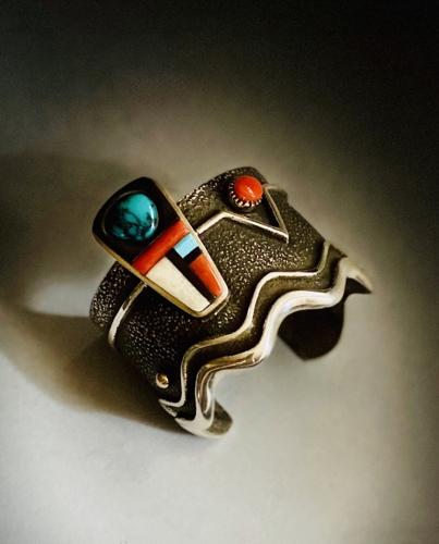 Tufa Cast Bracelet by Edison Cummings