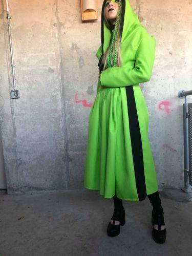 LIME GREEN COAT