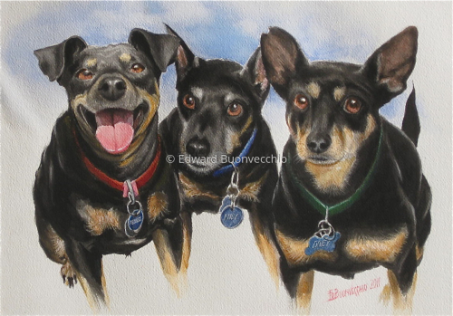 Pebbles Rudy and Doby
