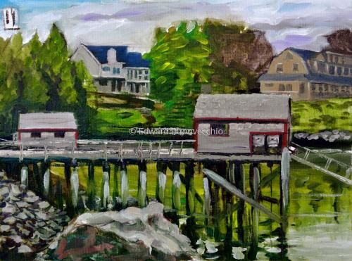 Spring in Rockport Harbor