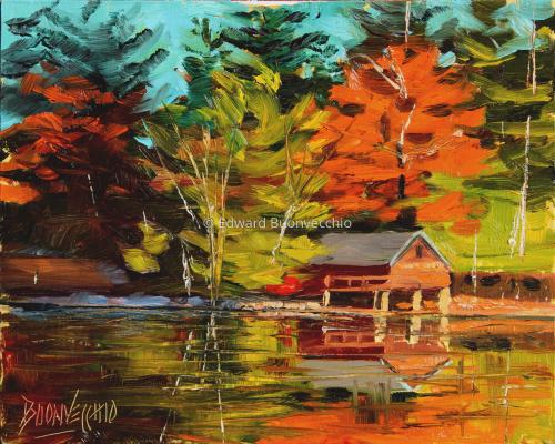 Reflecting on Echo Lake