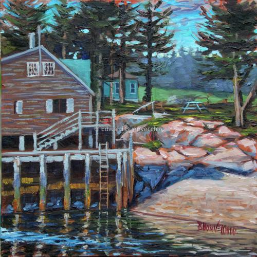 Home on Wonsqueak Harbor