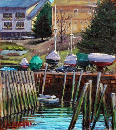 Springtime at Rockport Harbor