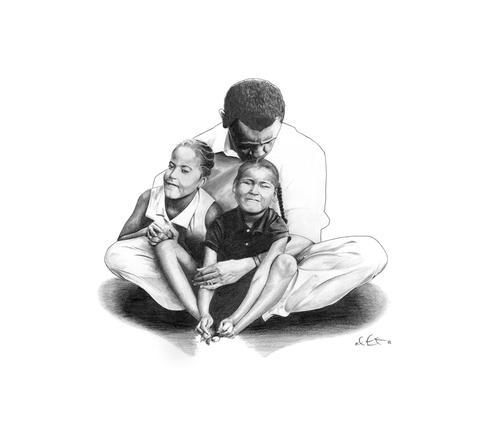 Obama's Joy by Eddie Fontno