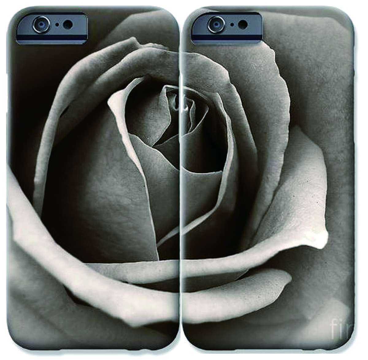 ART phone cases for two (large view)