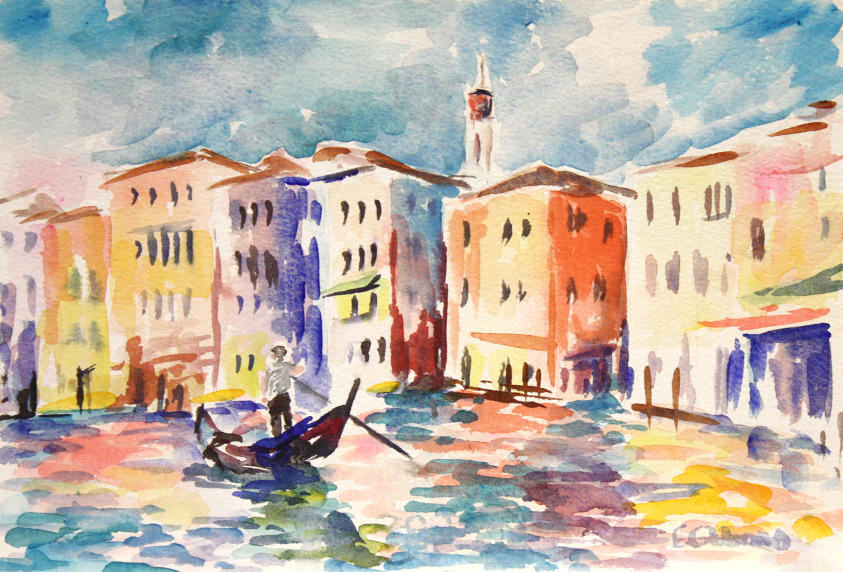 Grand Canal, Venice (large view)