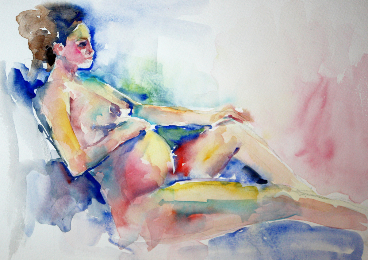 Pregnant Nude Study (large view)
