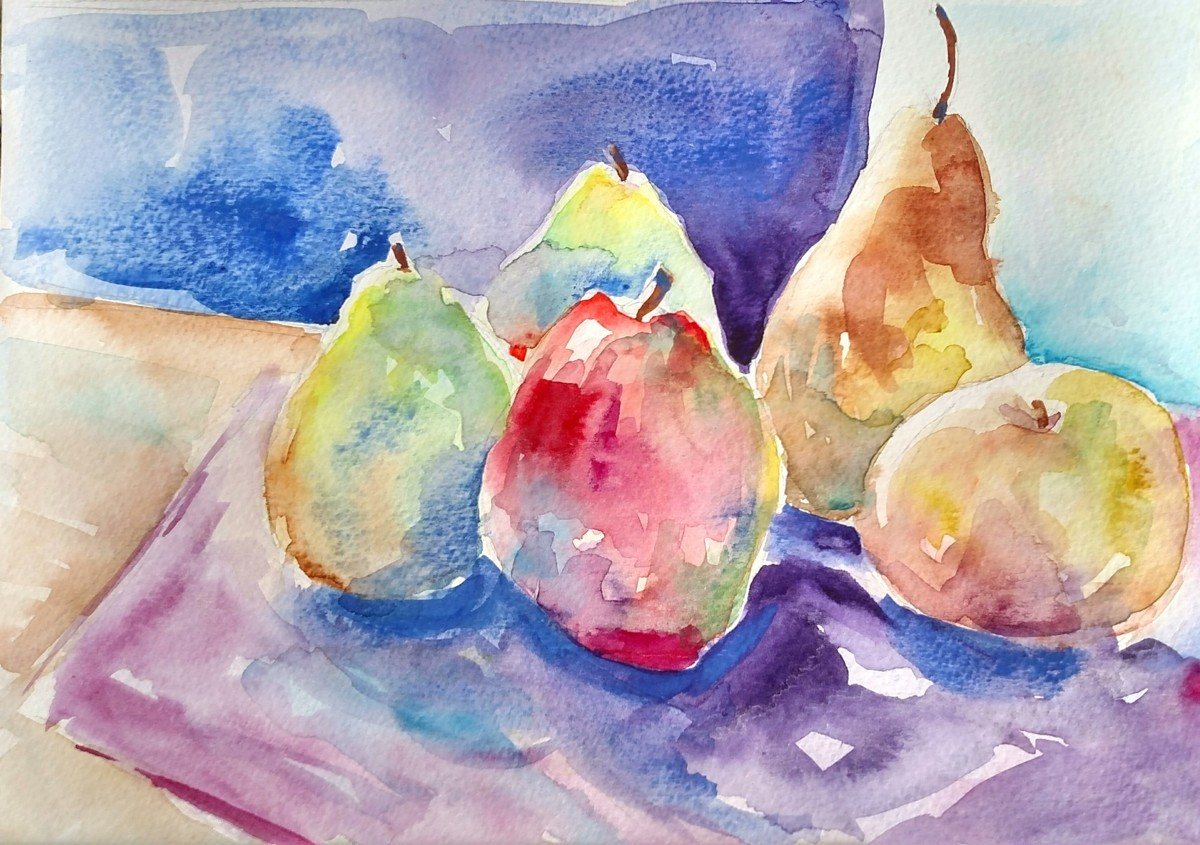 Apples and Pears (large view)