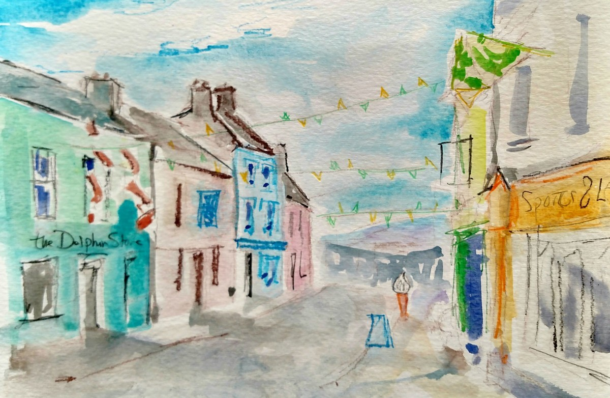 Strand Street Study, Dingle (large view)