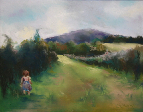 Ingrid at the Blueberry Patch by Emily Gibbons