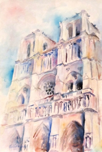 Notre Dame by Emily Gibbons