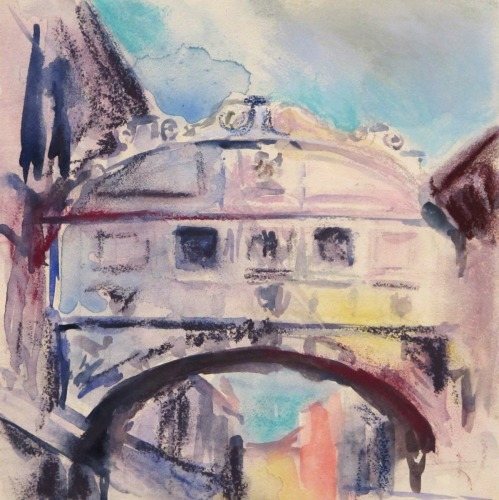 Bridge of Sighs Study by Emily Gibbons