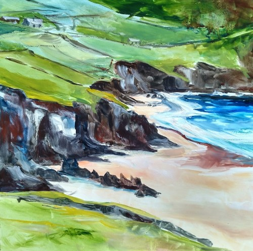 Coumeenoole Beach by Emily Gibbons