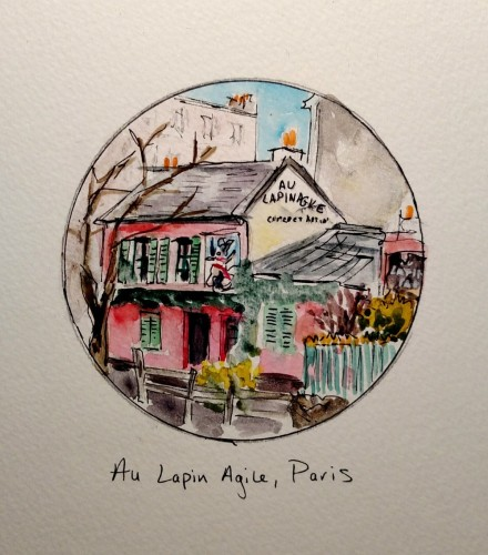 Au Lapin Agile by Emily Gibbons