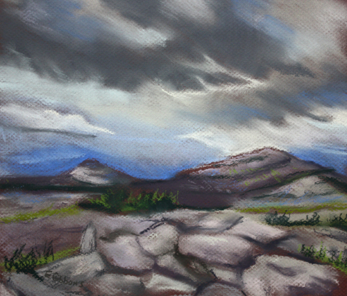Rocks of the Burren by Emily Gibbons