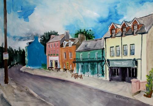 Main Street Glengarriff by Emily Gibbons