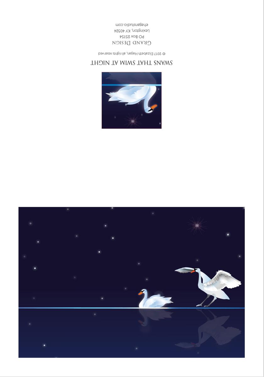 Swans that Swim at Night (large view)