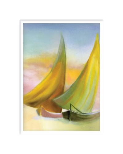 Sailboats PRINT (large view)