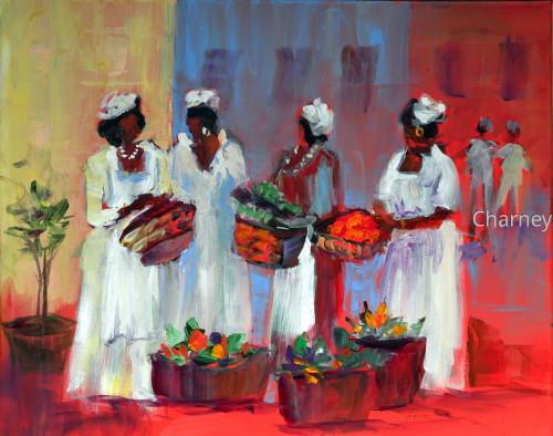 Ladies at Market
