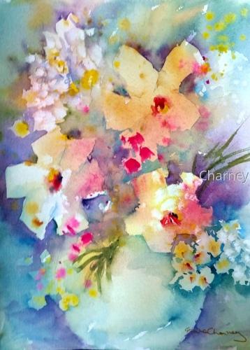 Negative Flowers